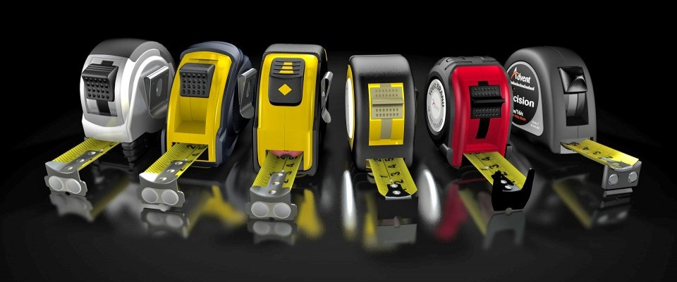 Measuring tape range